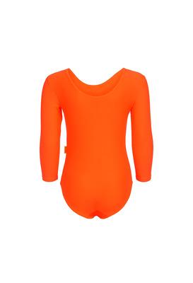 Г 2.01 Купальник гимнастический для девочек (фото, Оранжевый)