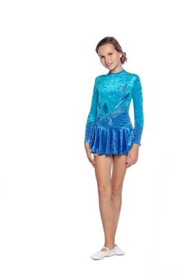 Р 2.2 Платье спортивное для девочек (фото, вид 1)