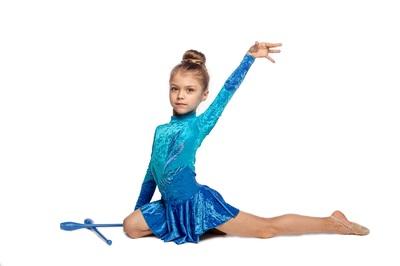 Р 2.2 Платье спортивное для девочек (фото, вид 3)
