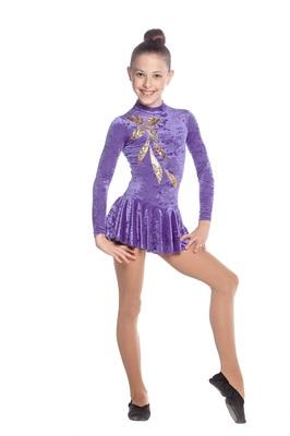 Р 2.3 Платье спортивное для девочек (фото, вид 1)