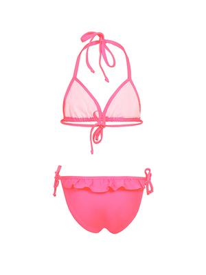 К 20.31 Купальник двухпредметный для девочек (фото, Розовый)