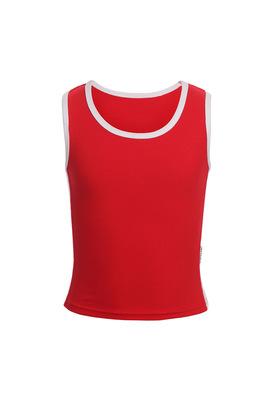 М 9.3 Топ-майка для девочек (фото, красный)