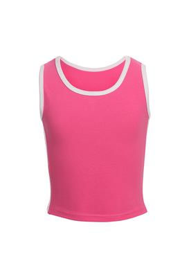 М 9.3 Топ-майка для девочек (фото, розовый)