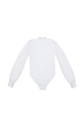 Р 1.05 Рубашка-боди для мальчиков (фото, Белый)