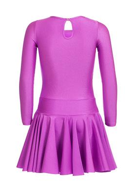 Р 2.4 Платье спортивное для девочек (фото, сиреневый)