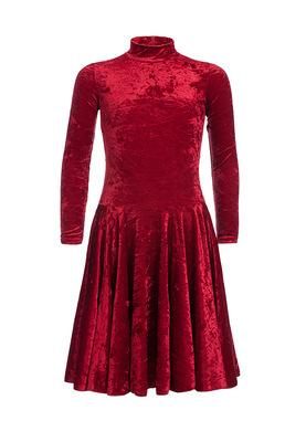 Р 3.8 Платье спортивное для девочек (фото, Бордовый)