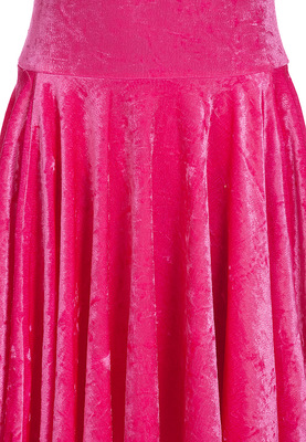 Р 3.8 Платье спортивное для девочек (фото, малиновый)