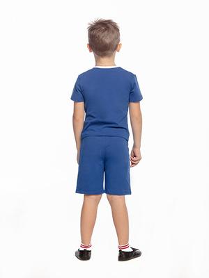 Ш 10.3 Шорты для мальчиков (фото, Голубой)