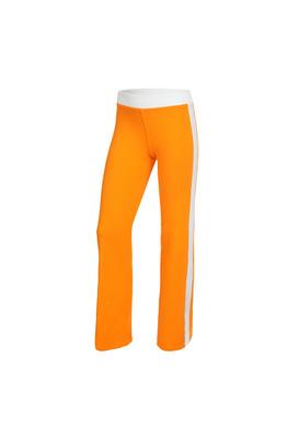 Б 6.3 Брюки гимнастические для девочек (фото, Оранжевый)