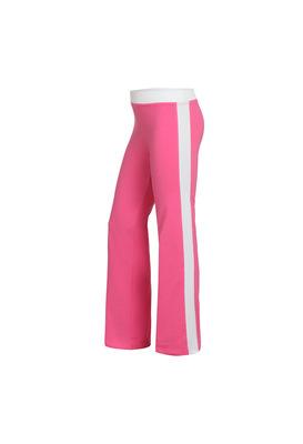 Б 6.3 Брюки гимнастические для девочек (фото, Розовый)