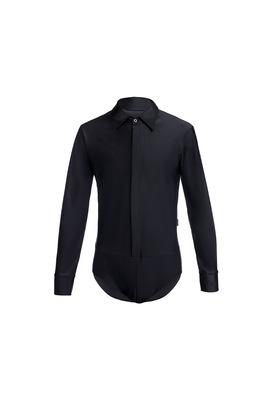 Р 1.02 Рубашка-боди для мальчиков (фото, Черный)