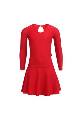 Р 2.9 Платье спортивное для девочек (фото, Красный)