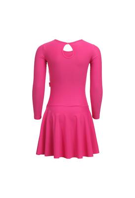 Р 2.9 Платье спортивное для девочек (фото, Малиновый)