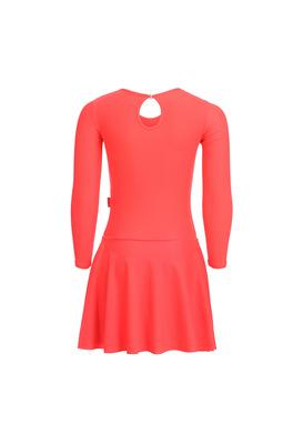 Р 2.9 Платье спортивное для девочек (фото, Оранжевый)