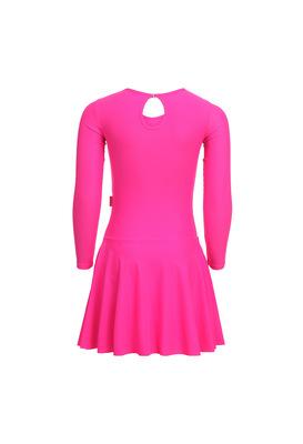 Р 2.9 Платье спортивное для девочек (фото, Розовый)