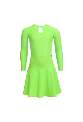 Р 2.9 Платье спортивное для девочек (фото, Салатный)