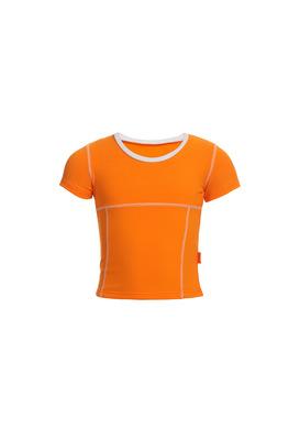 Ф 5.3 Футболка для девочек (фото, Оранжевый)