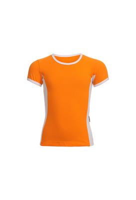 Ф 6.3 Футболка для девочек (фото, оранжевый)