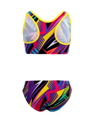 К 23.01 Купальник двухпредметный для девочек (фото, вид 1)