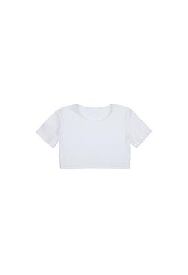 Т 0.03 Топ для девочек (фото, белый )