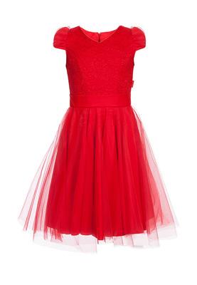 Р 8.5 Платье спортивное для девочек (фото, Красный)