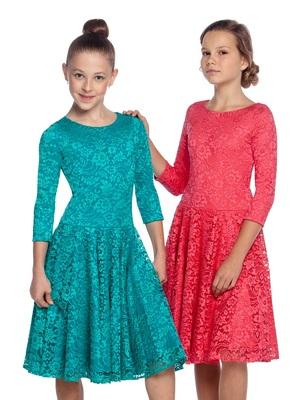 Р 8.4 Платье спортивное для девочек (фото)