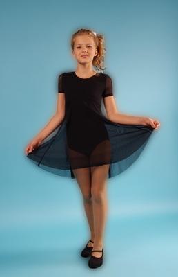 Г 10.3 Купальник гимнастический для девочек с юбкой