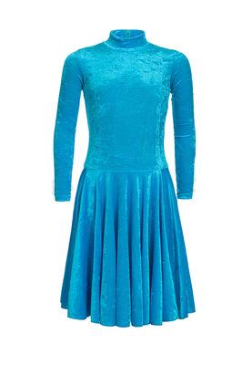 Р 3.8 Платье спортивное для девочек (фото, Бирюзовый)
