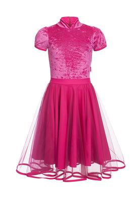 Р 10.3 Платье спортивное для девочек (фото, Розовый)