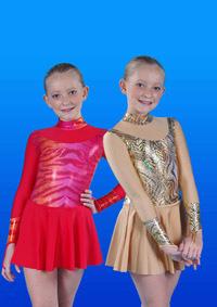 Р 2.6 Платье спортивное для девочек
