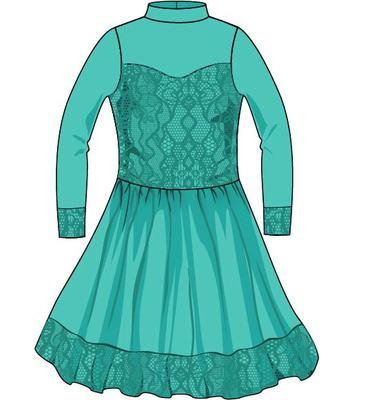 Р 4.7 Платье спортивное для девочек