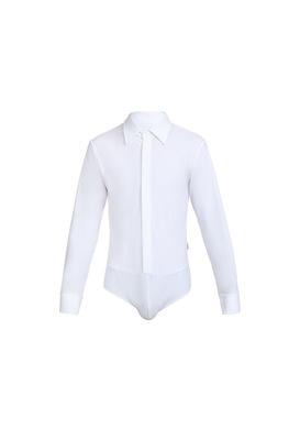 Р 1.02 Рубашка-боди для мальчиков (фото, Белый)