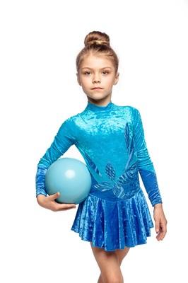 Р 2.2 Платье спортивное для девочек (фото)