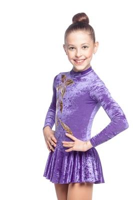 Р 2.3 Платье спортивное для девочек (фото)
