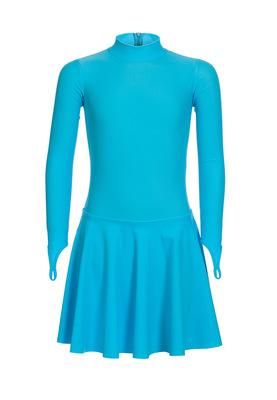Р 2.71 Платье спортивное для девочек (фото, Бирюзовый)