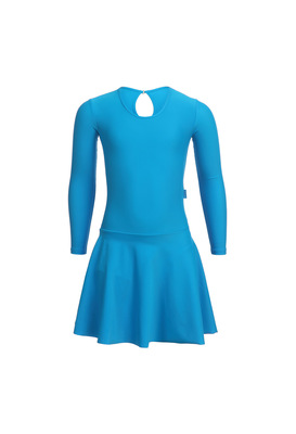 Р 2.9 Платье спортивное для девочек (фото, Бирюзовый)