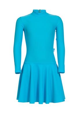 Р 2.91 Платье спортивное для девочек (фото, Бирюзовый)
