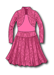 Р 7.2 Платье спортивное для девочек