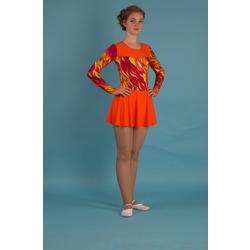 Г 2.7 Купальник гимнастический для девочек с юбкой