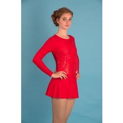 Г 2.11 Купальник гимнастический для девочек с юбкой